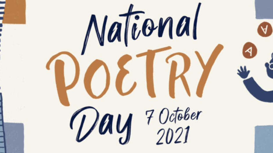 A Celebration of Poetry on National Poetry Day  in Chichester – Thursday 7th October 2021, 7.30pm
